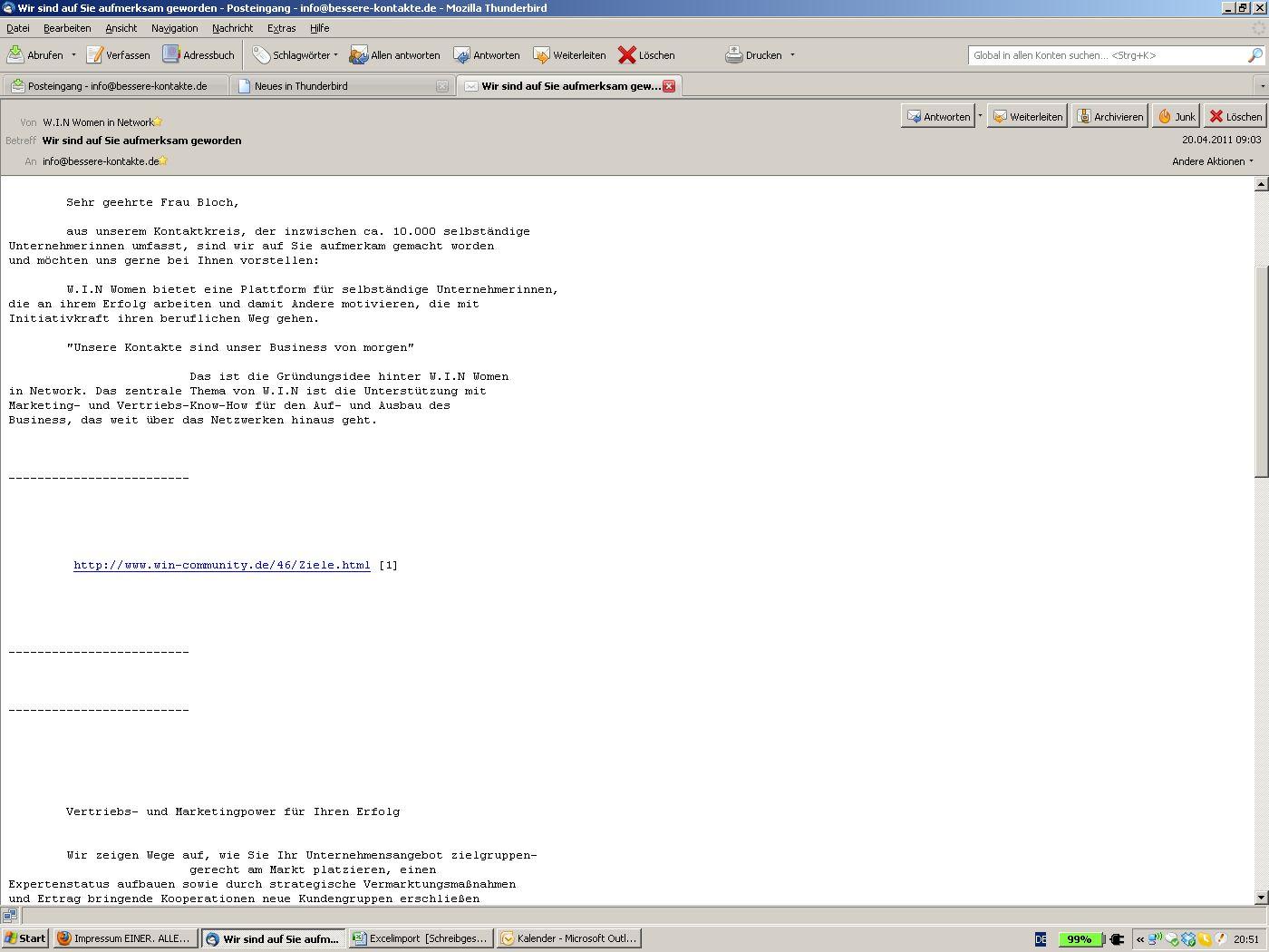 E-Mail marketing Archive - Akquiseblog - Artikel zur Akquise im B-2 ...